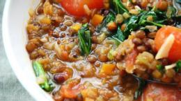 Meatless Lentil Stew