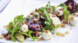 Roasted Beets and Fragrant Pear Salad