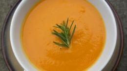 Carrot and Rosemary Soup