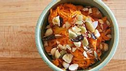 Raw Sweet Potato Salad